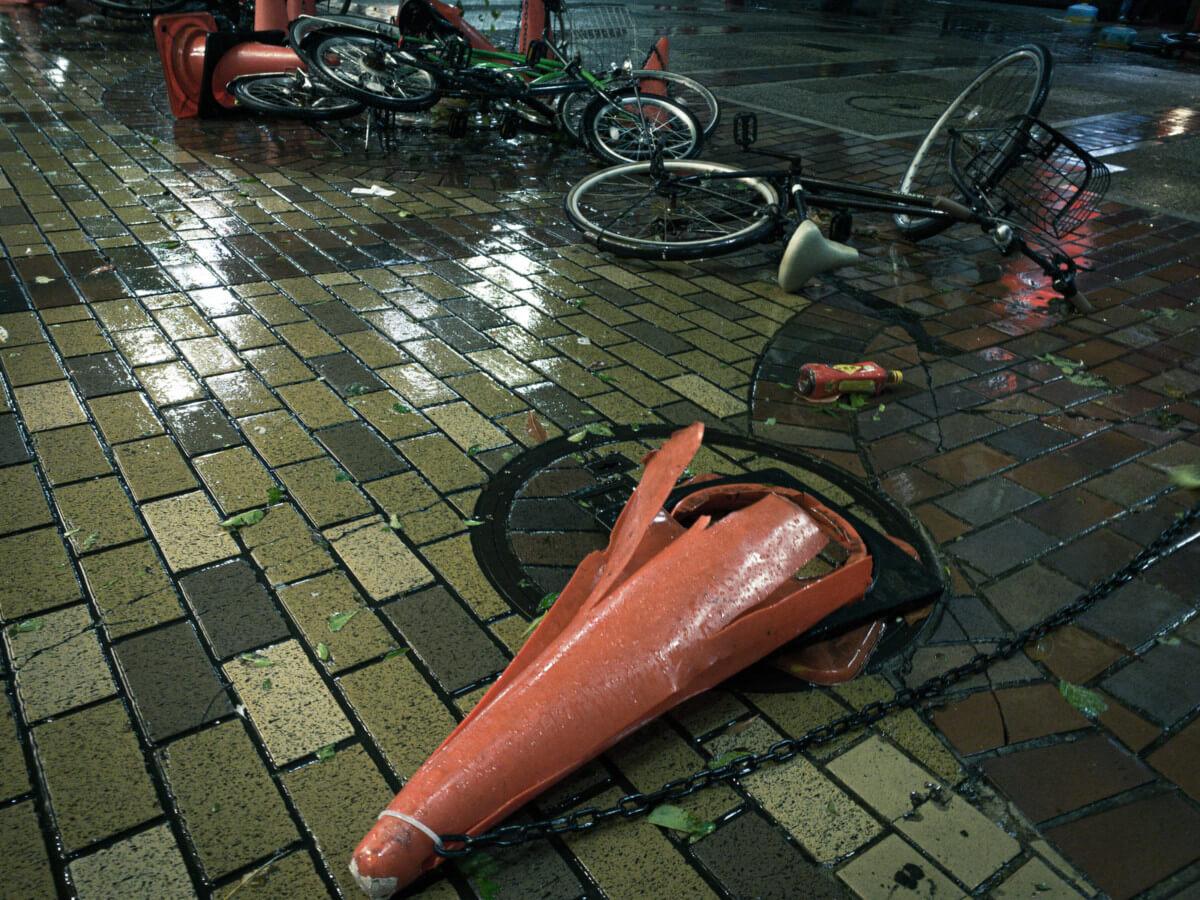火災保険が使える台風の画像